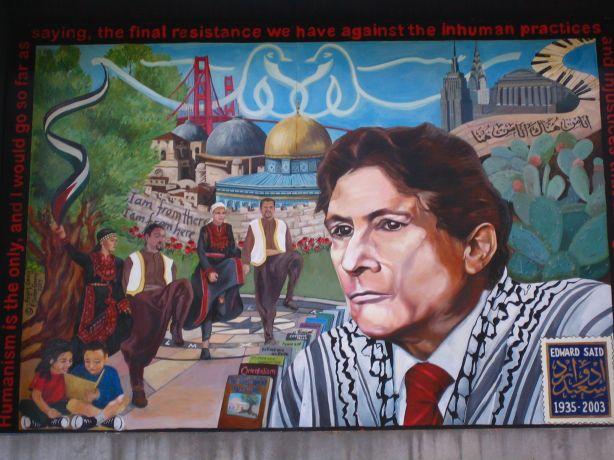 Edward Said Mural SFSU