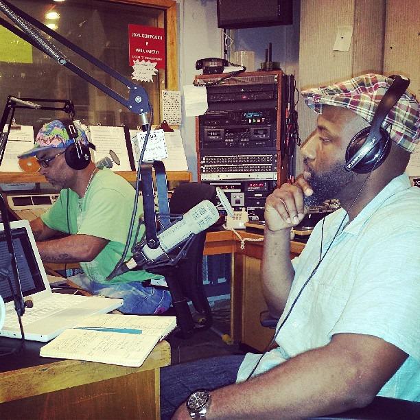 C & R in studio