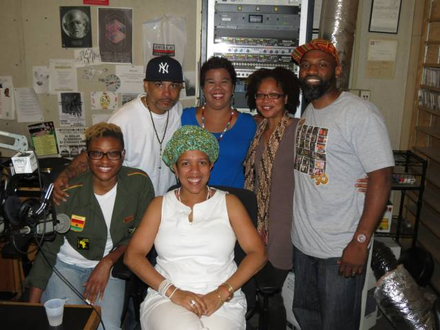 Sista Cypher at TRGGR Radio - July 2013